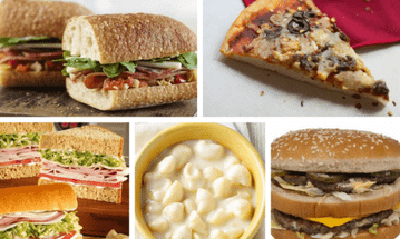 5 Fast Food Options for Young Athletes