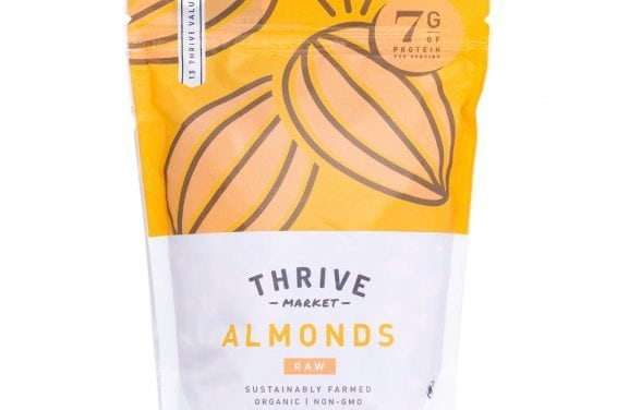 Nutrient Packed Almonds (Protein, Fiber)