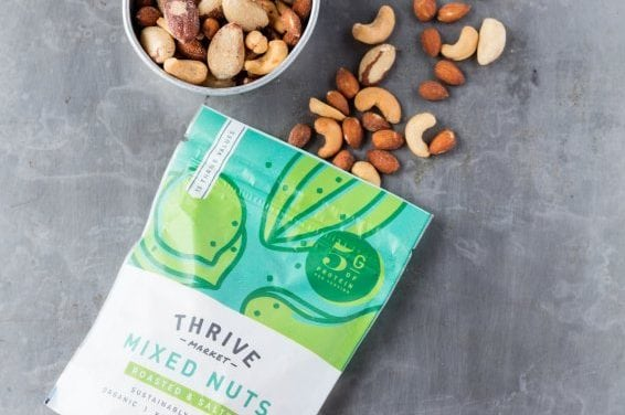 Good Protein Source Mixed Nuts (Protein, Omega-3s)