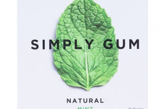 Natural Chewing Gum (Low sugar, Gluten Free)