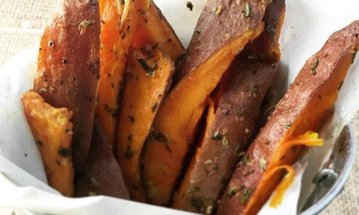 Sparky Sweet Potato Fries